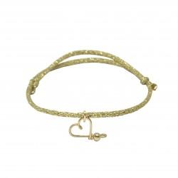 My heart glitter Bracelet