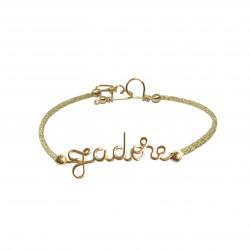 I like bracelet / glittery...