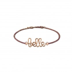 Belle glittery bracelet