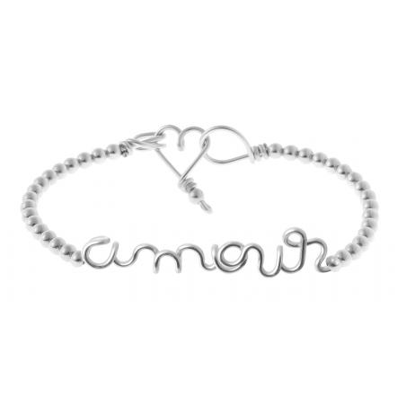Bracelet Perlisien Amour