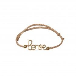 Bracelet love pailleté