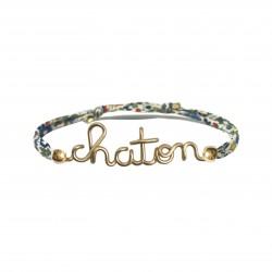 Bracelet chaton Liberty