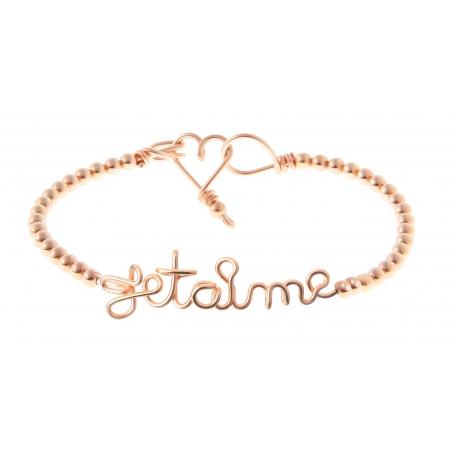 Bracelet Perlisien Je t'aime