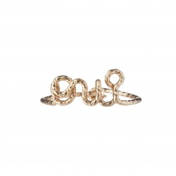 """Ring """"oui"""" with Sparkle Wire"""