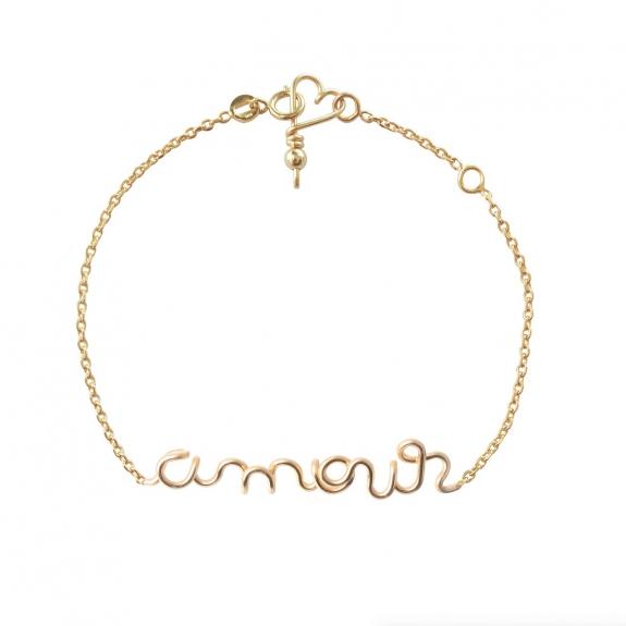 Bracelet Chaine Amour ...