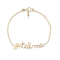 Bracelet Chaine Je t'aime