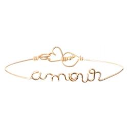Bracelet Jonc Amour