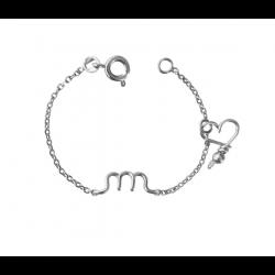 """Bracelet """"minuscule letter"""""""