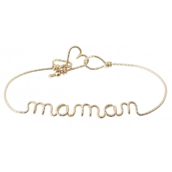 Bracelet Maman au fil Sparkle