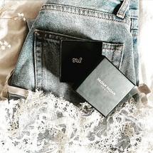 Vos jolies photos ♡... En mode denim et dentelle... . Merci @anaisdurand4  Belle journée à tous !  . #oui #denim #jeans #bijoux #bague #madeinfrance #padampadamparis #padampadam