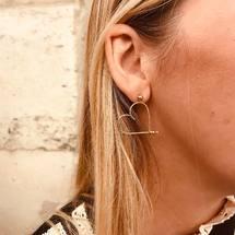 Une BO mon cœur à droite, une Perlisienne ou autre à gauche...  Toutes nos boucles d'oreilles sont vendues à l'unité, pour un effet rock assuré ! On vous souhaite un beau dimanche ♡  . #padampadam #padampadamparis #madeinfrance #madeinversailles #moncoeur #lecoeurdepadam #lecoeuralaperle #bo #coeur #hearing #goldfilled